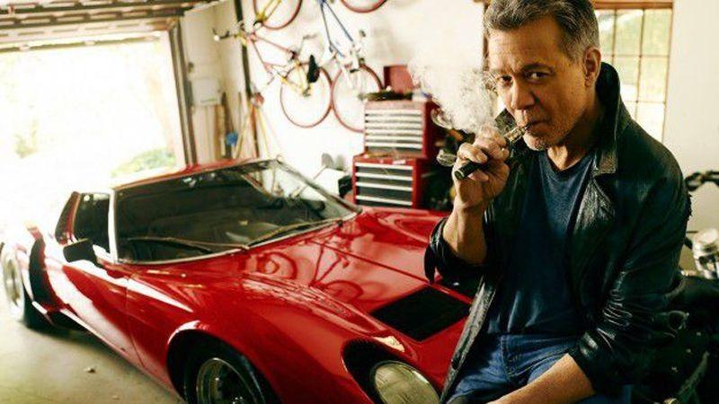 La colección de autos de Eddie Van Halen