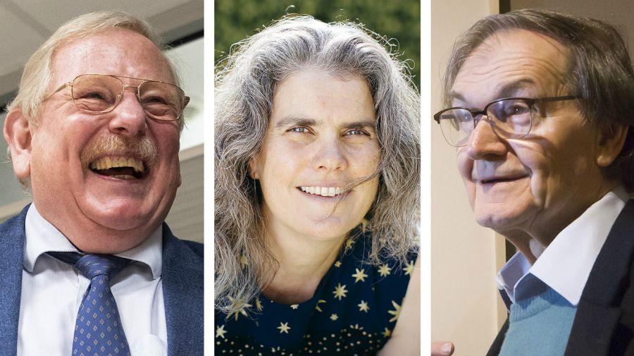Nobel de Física para tres científicos.