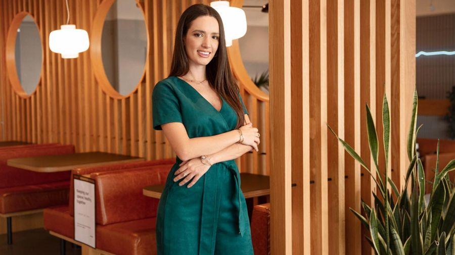 Pierina Merino se graduó de arquitecta con honores y es una de las pocas mujeres que lidera una compañía tecnológica