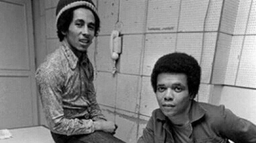 Bob Marley y Johnny Mash