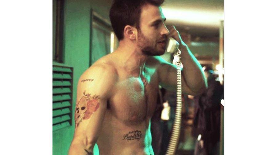 Chris Evans tatuajes: Bardsley
