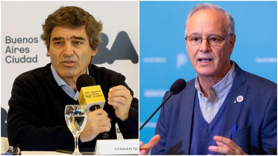 Fernán Quiros y Daniel Gollan.