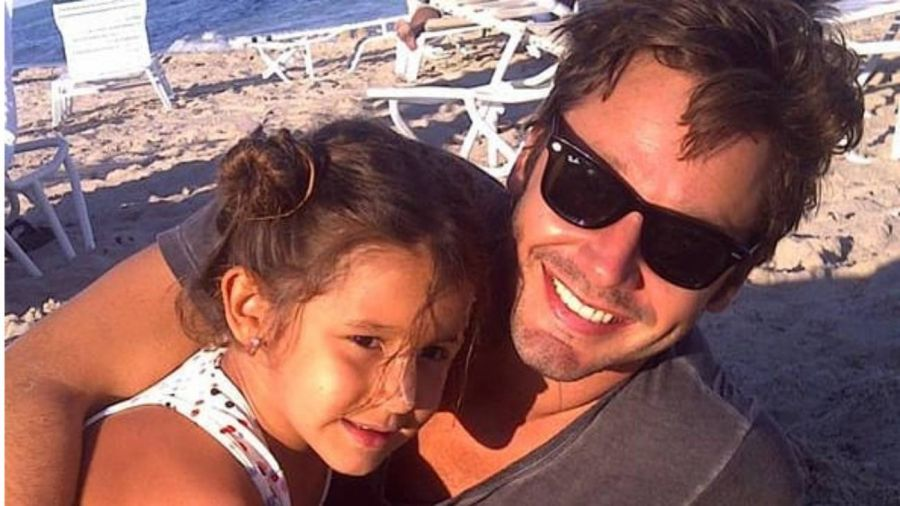 Otro mes sin Blanquita: la conmovedora foto de Benjamín Vicuña con su hija