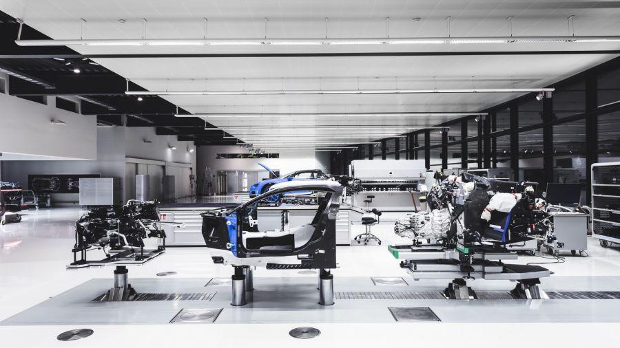 Bugatti suspende su plan de producción de un nuevo súperdeportivo