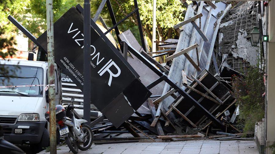 Derrumbe en Belgrano 20201013