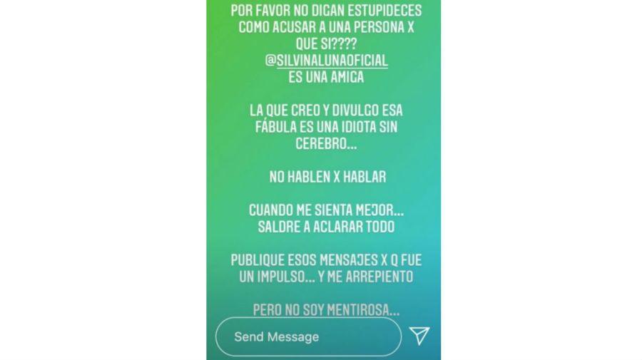 El descargo de Ximena Capristo