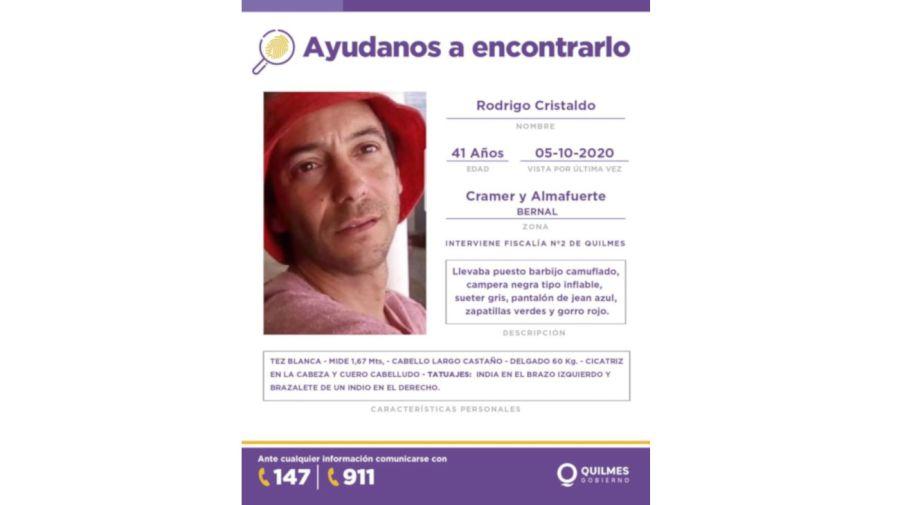2020 10 14 Descuartizado Quilmes Rodrigo Cristaldo