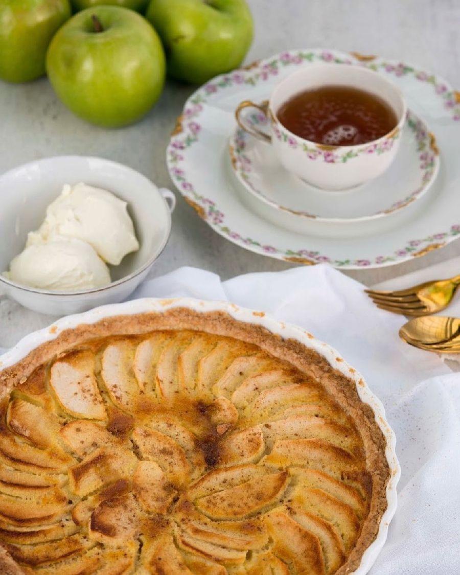 Susana Giménez te enseña a hacer torta de manzana casera