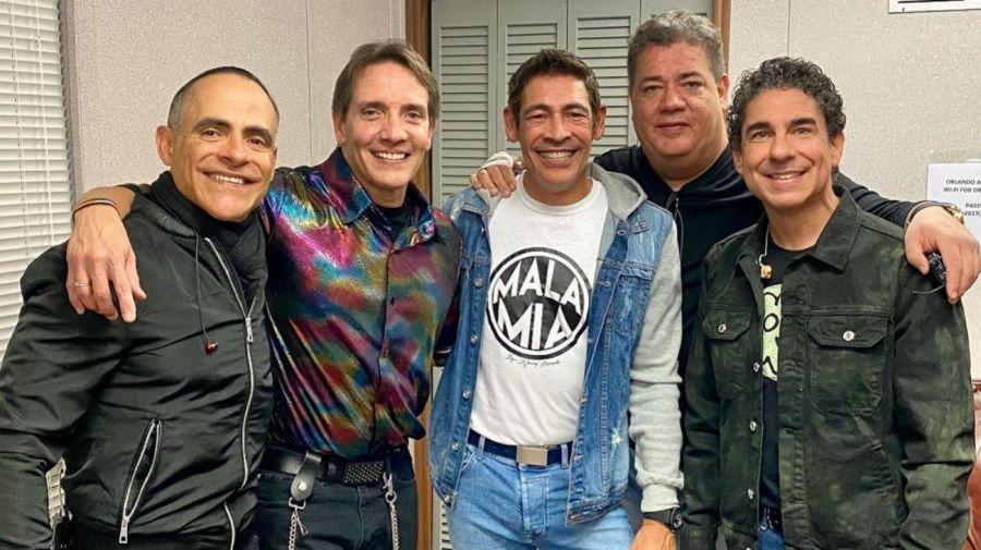 Miguel Cancel, René, Johnny Lozada, Ray Reyes y Ricky Mélendez