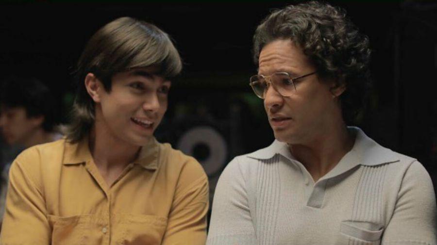 Sian Chiong (Joselo) y Yamil Urena (Edgardo Díaz joven)