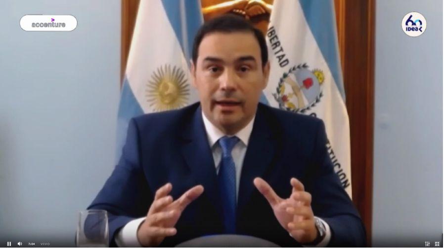 coloquio idea gobernadores Perotti Uñac Valdés 20201016