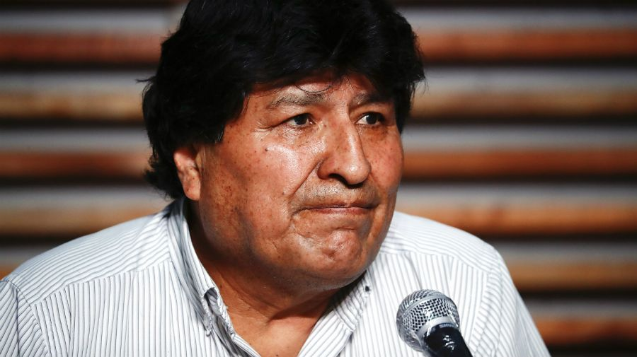 Evo Morales, tras los comicios celebrados el domingo 18 de octubre.