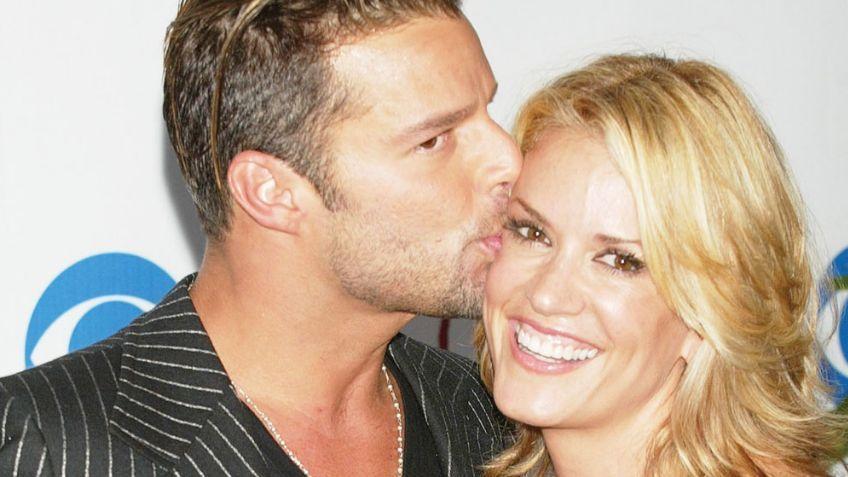 La única novia pública que tuvo Ricky Martin: así luce Rebecca Alba hoy
