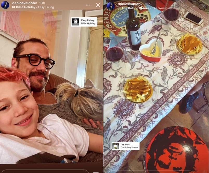 Se olvidó de Jimena Barón: la misteriosa foto de Daniel Osvaldo con su nueva novia