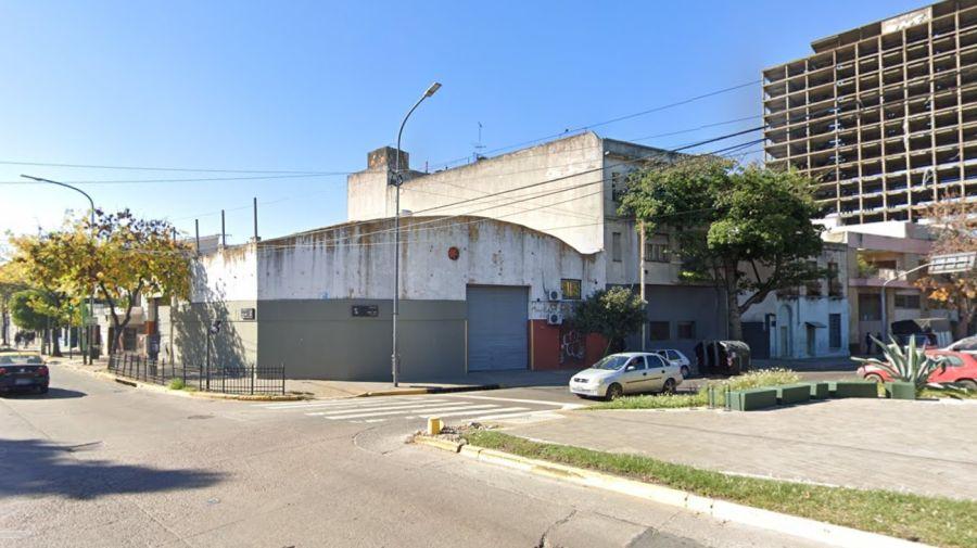 Esquina de las avenidas Vieytes y Suárez, en Barracas, donde ocurrió el crimen. Foto: Google Maps.