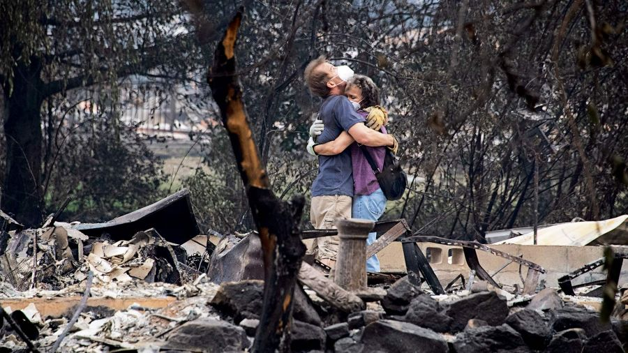 Incendios Argentina cenizas