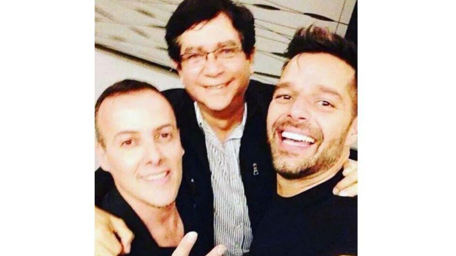 Joselo, Edgardo Díaz y Ricky Martin