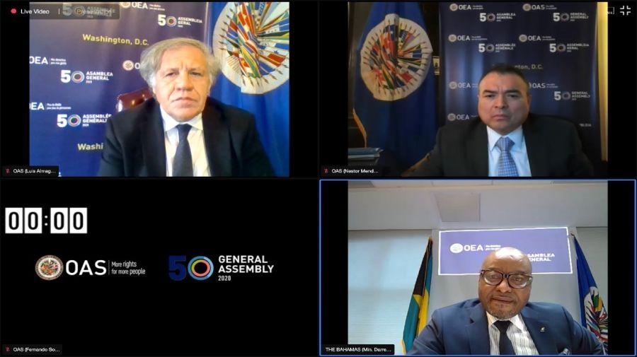 OEA asamblea general venezuela 20201021