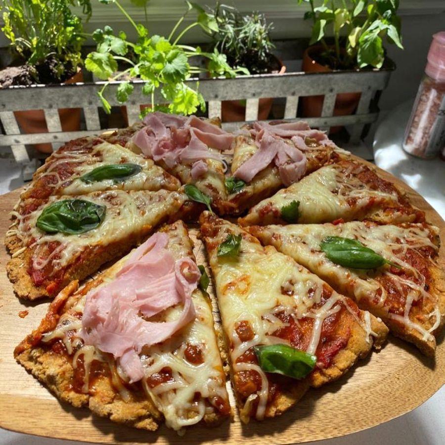 Romina Pereiro te enseña a hacer pizzas integrales en casa