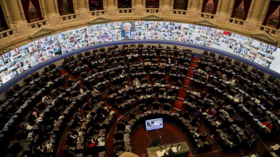 sesión en la Cámara de Diputados 20201021
