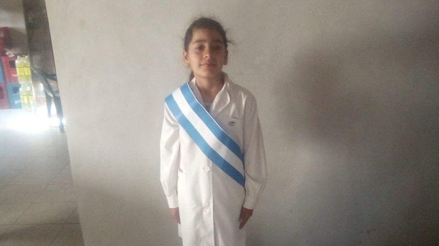 Rocío Abigail Riquel tenía 9 años. Fue encontrada muerta. Había sido violada.