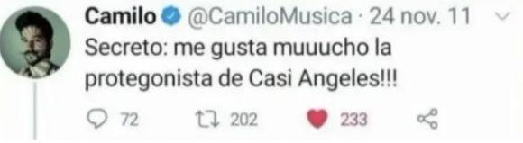 Revelan los mensajes de amor que Camilo le dedicaba a Lali