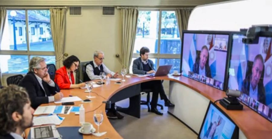25_10_2020_Cedoc_Perfil_Schiaretti y Fernández en videoconferencia