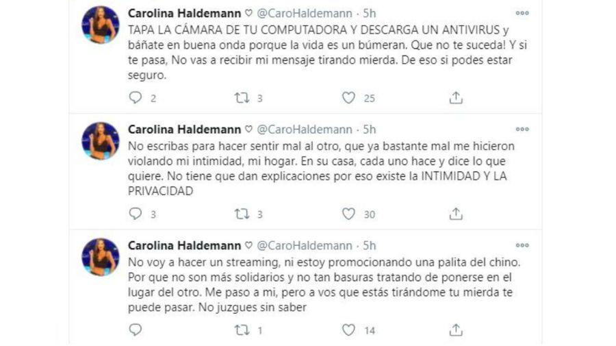 Descargo Carolina Haldemann