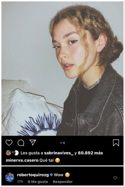 El comentario de Roberto Quiroz a Minerva Casero