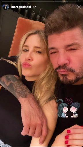 La noche de amor de Marcelo Tinelli y Guille Valdés