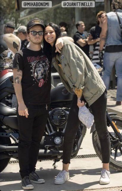 Juanita Tinelli y Mika Bonomi