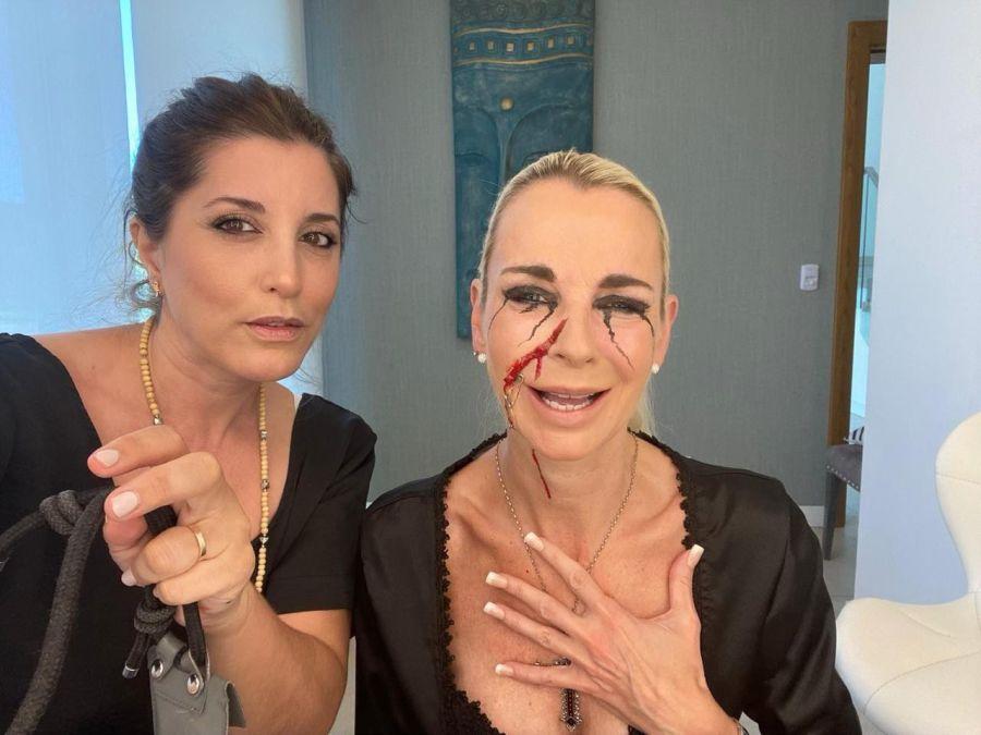 Natalia Uliassi junto a su modelo, Sussane