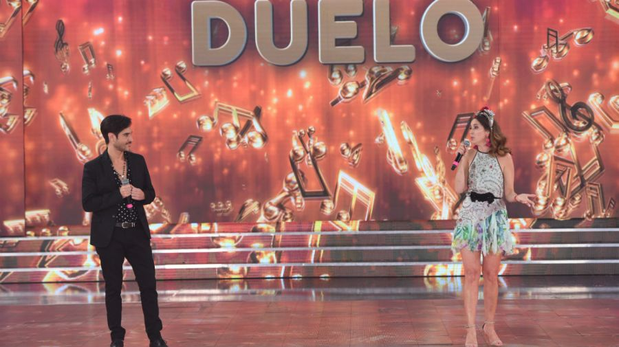 Pato Arellano y Laura Novoa