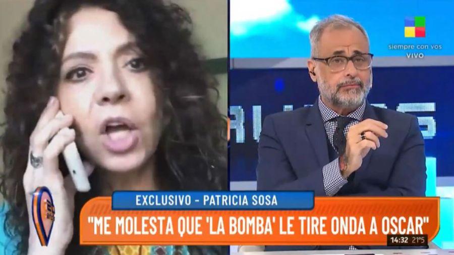 Patricia Sosa contra La Bomba