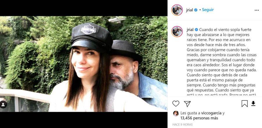 En medio de polémicas con Patricio Giménez, Jorge Rial homenajeó a Romina Pereiro por su cumpleaños