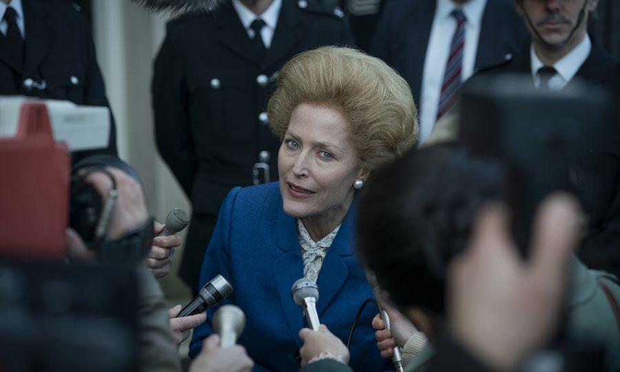 Gillian Anderson, totalmente cambiada en su papel en The Crown