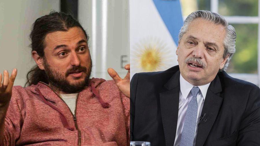 Alberto Fernandez y Juan Grabois 20201030