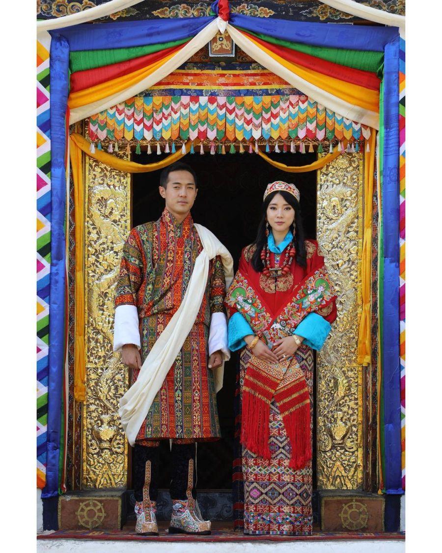 En una ceremonia íntima, se casó la princesa Euphelma, hermana del Rey de Bután