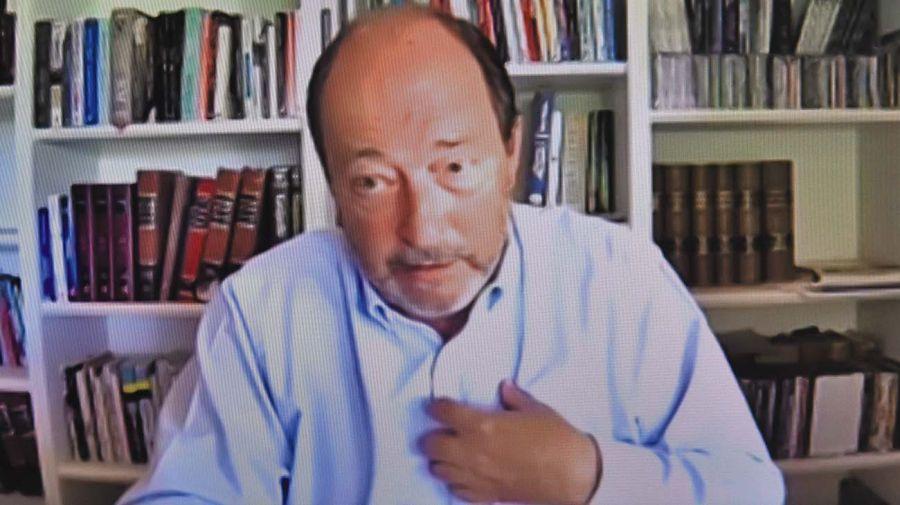 Ernesto Sanz, en la entrevista con Jorge Fontevecchia.