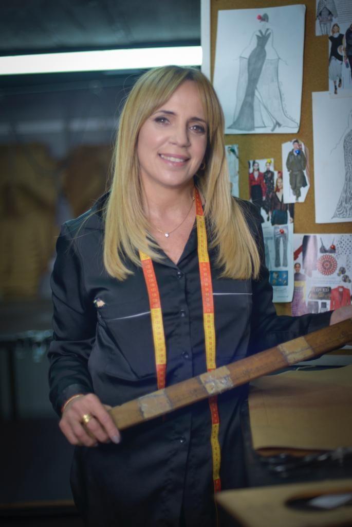 Cynthia Martos la diseñadora favorita de Fabiola