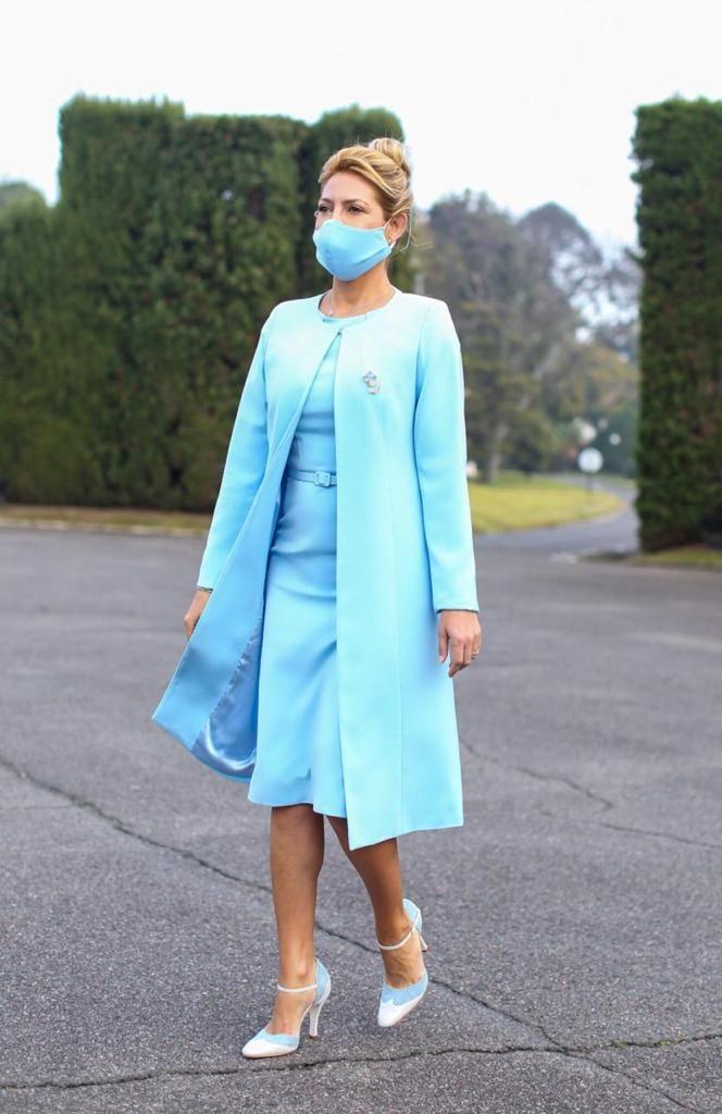 El otro look que la primera dama lució el 25 de mayo