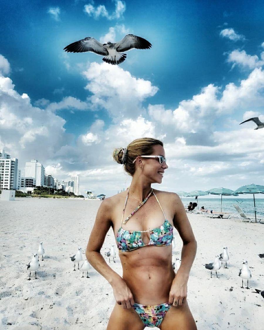 Las fotos de Nicole Neumann en Miami a donde viajó para celebrar sus 40 años