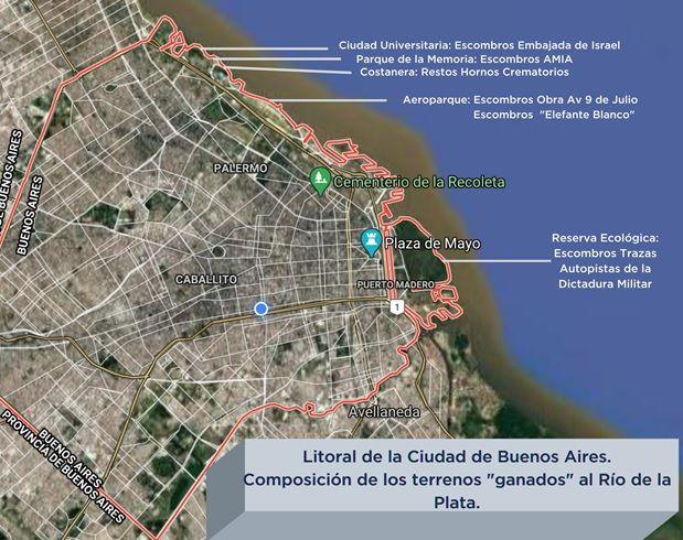 Origen de los rellenos en las costas del Río de la Plata en la Ciudad de Buenos Aires