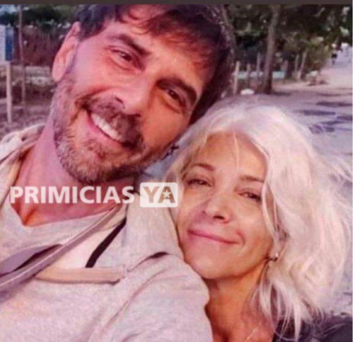 Sale a la luz una foto de Juan Darthés con su esposa en su exilio en Brasil
