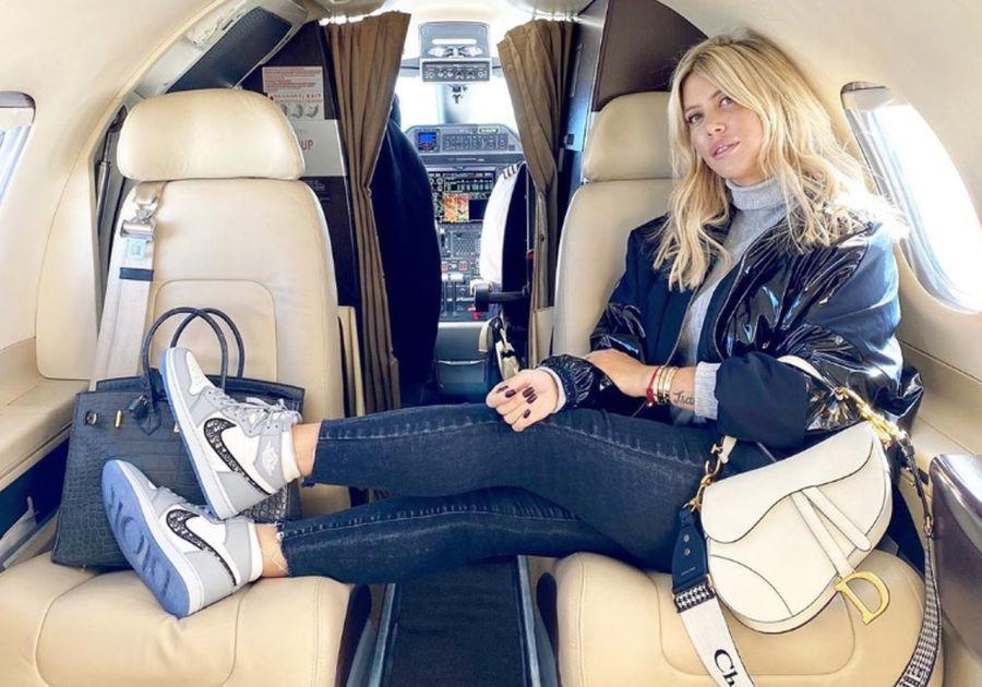Wanda Nara usó unas exclusivas zapatillas que salen más de $2 millones
