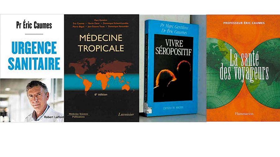Libros. Eric Caumes es un autor muy respetado. Su últimos libro, Emergencia sanitaria, apareció casi en paralelo a los anuncios de Emmanuel Macron de una nueva cuarentena.