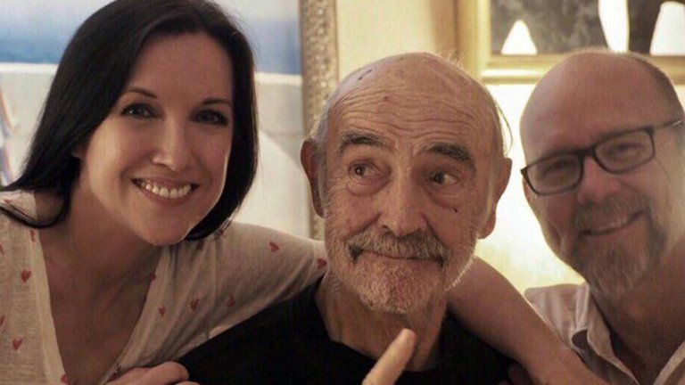 Murió Sean Connery: Su última foto