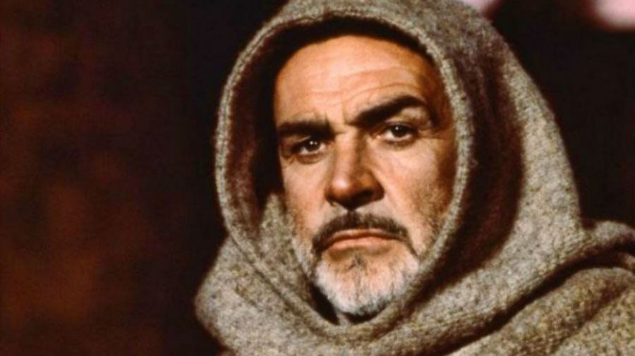 Sean Connery en El Nombre de la Rosa