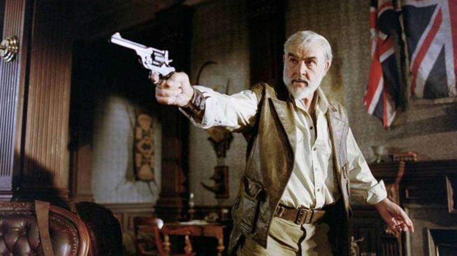 Sean Connery en La Liga de los Hombres Extraordinarios