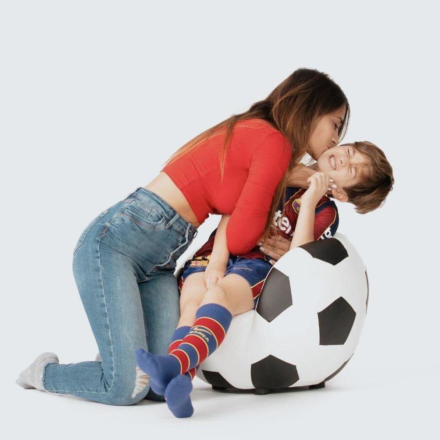El amoroso mensaje de Antonela Roccuzzo a Thiago Messi por su cumpleaños